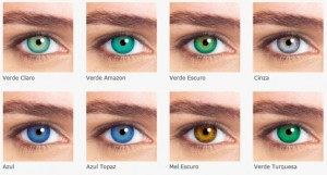 Quanto custa uma lente de contato colorida