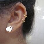 Piercing na orelha – Preço, como é colocado, cuidados e fotos