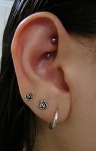 Piercing na orelha - Preço